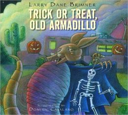Trick or treat old armadillo